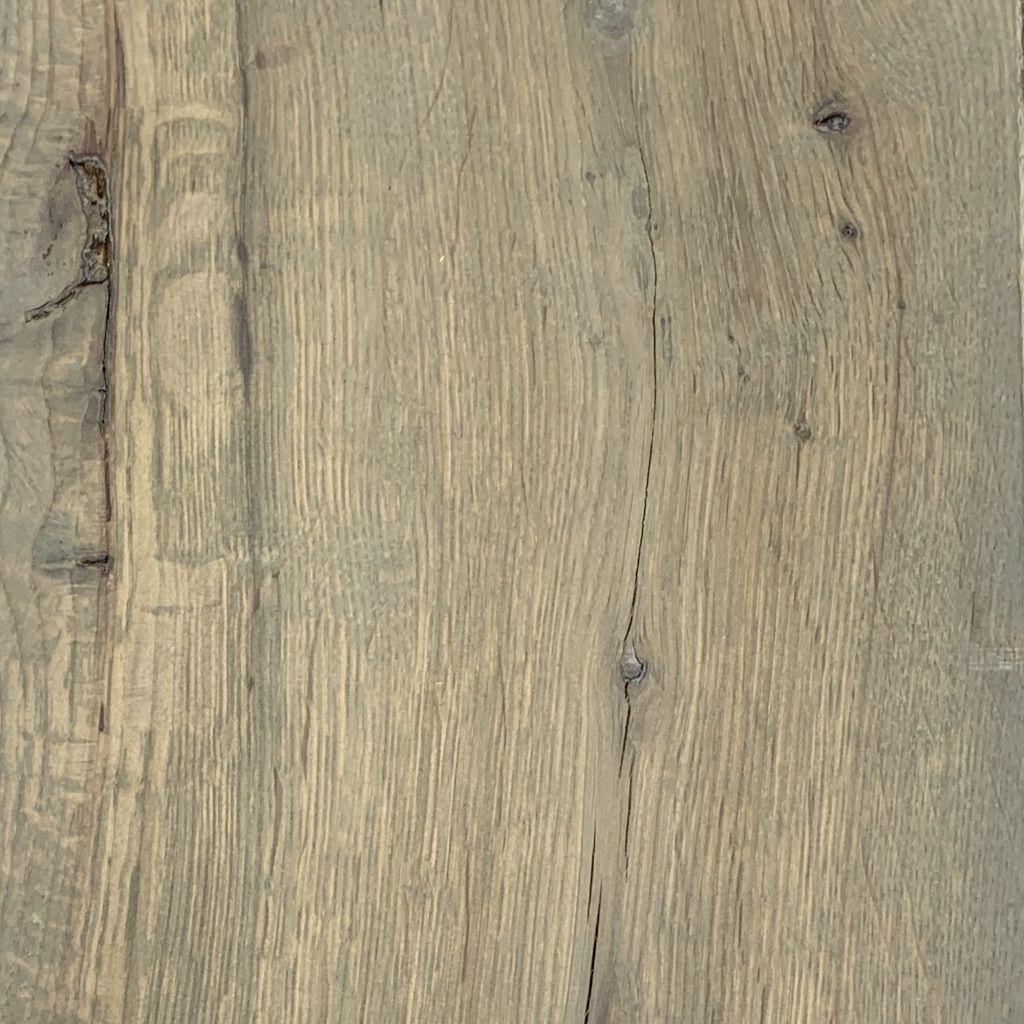 Live sawn white oak fumed grey titanium grey