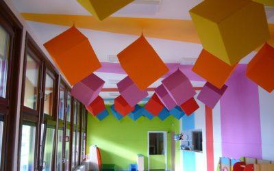 Colorful acoustics