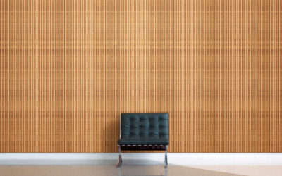 LOUVER: ribbed feature walls